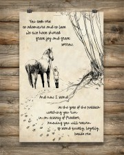 Horse Beside Me 11x17 Poster aos-poster-portrait-11x17-lifestyle-14