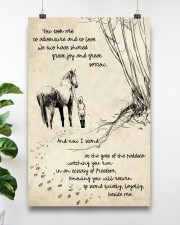Horse Beside Me 11x17 Poster aos-poster-portrait-11x17-lifestyle-19