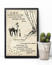 Horse Beside Me 11x17 Poster lifestyle-poster-8
