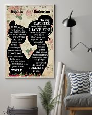 To My Daughter To My Mom 11x17 Poster lifestyle-poster-1
