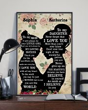 To My Daughter To My Mom 11x17 Poster lifestyle-poster-2
