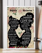 To My Daughter To My Mom 11x17 Poster lifestyle-poster-4