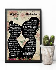 To My Daughter To My Mom 11x17 Poster lifestyle-poster-8