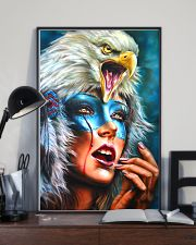 Native Woman 11x17 Poster lifestyle-poster-2