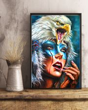 Native Woman 11x17 Poster lifestyle-poster-3