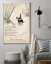 Horse to together 11x17 Poster lifestyle-poster-1