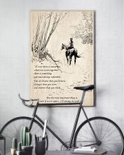 Horse to together 11x17 Poster lifestyle-poster-7