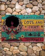 Peace Love and Fight 17x11 Poster poster-landscape-17x11-lifestyle-15