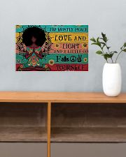 Peace Love and Fight 17x11 Poster poster-landscape-17x11-lifestyle-24