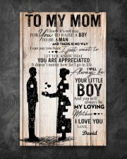 To My Mom - Son 11x17 Poster aos-poster-portrait-11x17-lifestyle-12