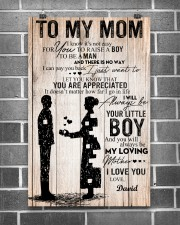 To My Mom - Son 11x17 Poster aos-poster-portrait-11x17-lifestyle-18