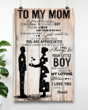 To My Mom - Son 11x17 Poster aos-poster-portrait-11x17-lifestyle-19