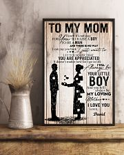To My Mom - Son 11x17 Poster lifestyle-poster-3
