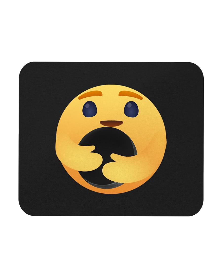 Care Emoji Hockey Mousepad
