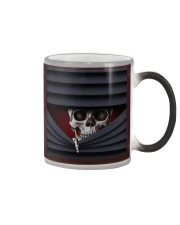 Skull Amazing mask 1003 Color Changing Mug tile