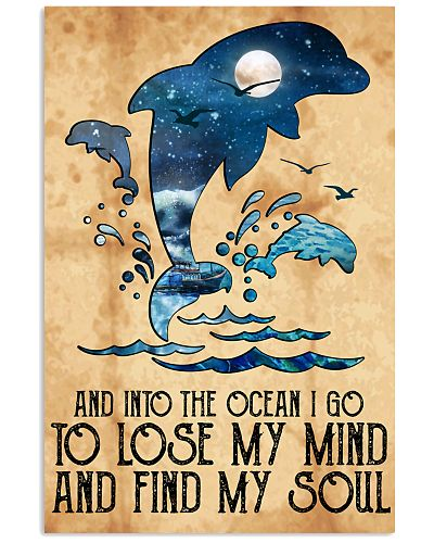 Dolphin Into The Ocean Lose My Mind Find My Soul