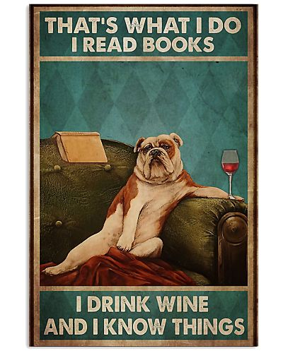 That's What I Do I Read Books And Drink Wine