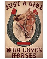 Just A Girl Who Loves Horses 11x17 Poster front