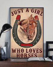Just A Girl Who Loves Horses 24x36 Poster lifestyle-poster-2