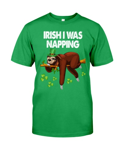 Irish I Was Napping