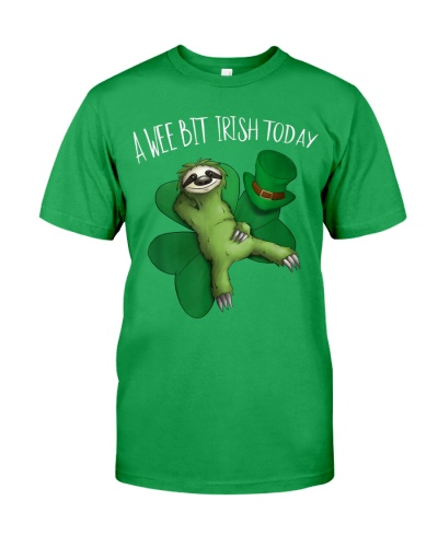 A Wee Bit Irish Today Sloth 2