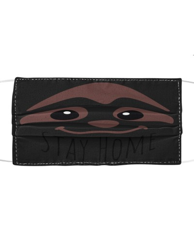Stay home Sloth Face Mask