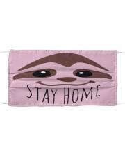 Stay home Sloth Face Mask Cloth face mask front