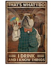 That's What I Do I  Drink Cocktail 11x17 Poster front
