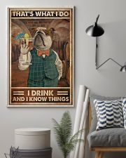 That's What I Do I  Drink Cocktail 11x17 Poster lifestyle-poster-1