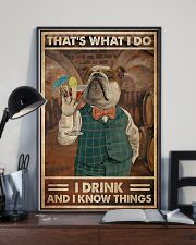 That's What I Do I  Drink Cocktail 11x17 Poster lifestyle-poster-2