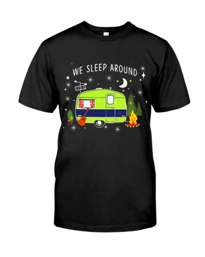 We Sleep Around - Camping Shirt