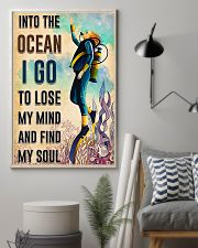 Scuba Diving Find My Sould 11x17 Poster lifestyle-poster-1