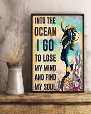 Scuba Diving Find My Sould 11x17 Poster lifestyle-poster-3