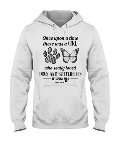 Once Upon A Time A Girl Loved Dogs And Butterflies