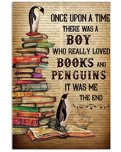 Boy Loved Penguins And Books