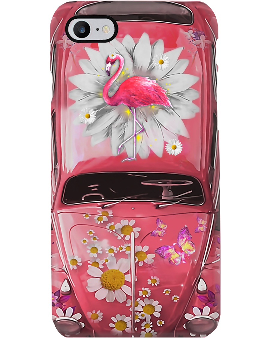 Flamingo Daisy Phone Case  Phone Case