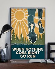 When Nothing Goes Right Go Run 11x17 Poster lifestyle-poster-2