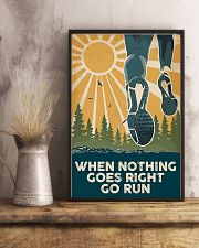 When Nothing Goes Right Go Run 11x17 Poster lifestyle-poster-3