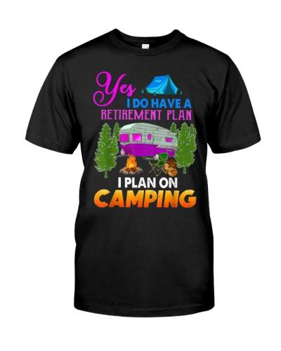 I Plan On Camping Retirement Plan