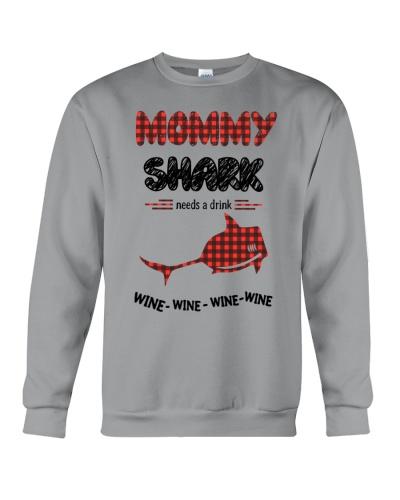 Mommy Shark Wine Wine Wine