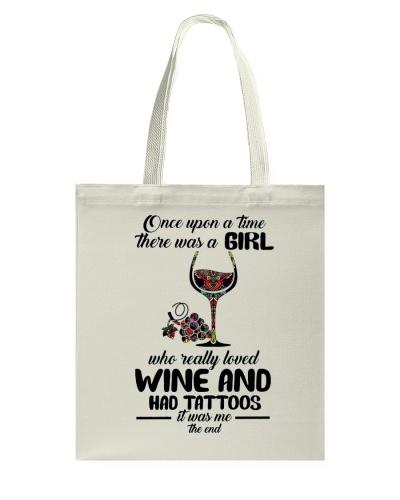 Wine and had tattoos