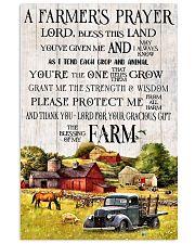 A Farmer's Prayer 11x17 Poster front