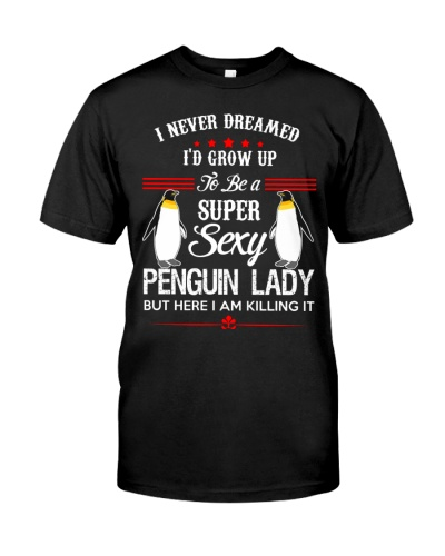 Super Sexy Penguin Lady