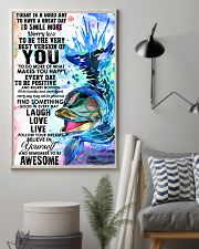 Dolphin Today Is Good Day 11x17 Poster lifestyle-poster-1