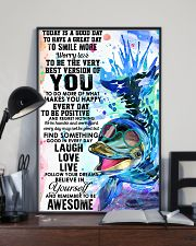 Dolphin Today Is Good Day 11x17 Poster lifestyle-poster-2