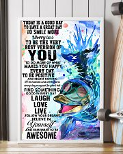 Dolphin Today Is Good Day 11x17 Poster lifestyle-poster-4