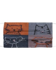 Cat Face Mask 100468686868266 Cloth face mask front