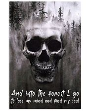 Skull -find my soul 24x36 Poster front