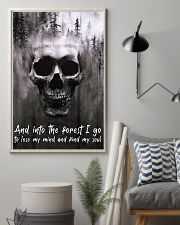 Skull -find my soul 24x36 Poster lifestyle-poster-1