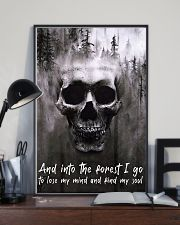 Skull -find my soul 24x36 Poster lifestyle-poster-2